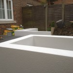 parex dpr acrylic render in white