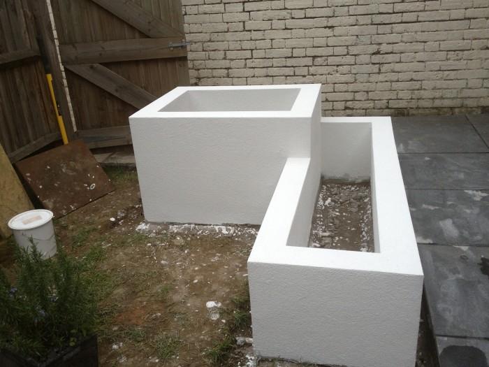parex dpr acrylic render in white